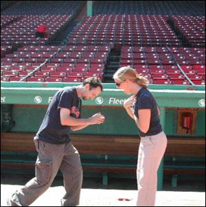Proposal at fenway park