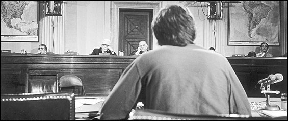 John F. Kerry testified before the Senate Foreign Relations Committee in April 1971.