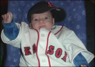 Here he is, the chosen one, the oracle, the Benbino - born when the stars were aligned in 2004 to see that the curse is reversed and the Red Sox win the World Series.