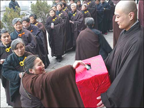 Chinese monks and nuns