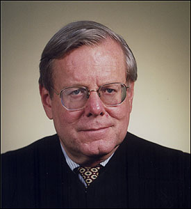 US JUDGE WILLIAM YOUNG: Sees jury's role enhanced