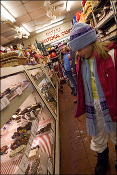 Since 1957, Dairy Fresh Candies on Salem Street has been drawing in youngsters eager to sample sweet treats.