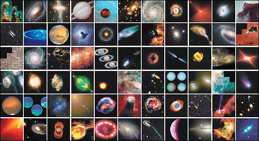 Scenes from the Hubble