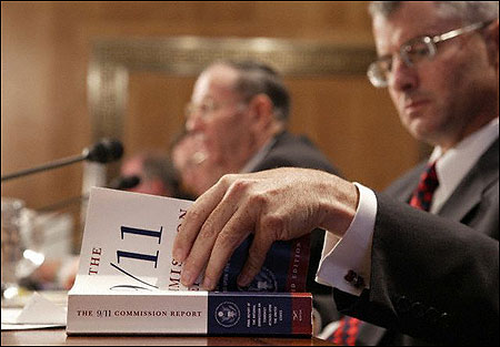 Last August, Philip Mudd, deputy director of the Counterterrorist Center at the CIA, looked through a copy of the 9/11 Commission Report during the Senate hearing on America's counterterrorism capabilities.