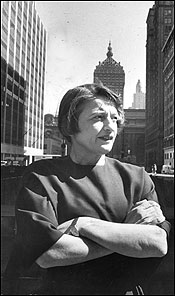 The Objectivist. Ayn Rand in New York, 1957.