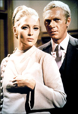 Greater Boston flavors The Thomas Crown Affair as its stars, Faye Dunaway and Steve McQueen, play a seductive game of cat and mouse.