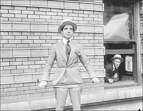At 5 feet 2 inches, Charles Ponzi made up in style what he lacked in size.