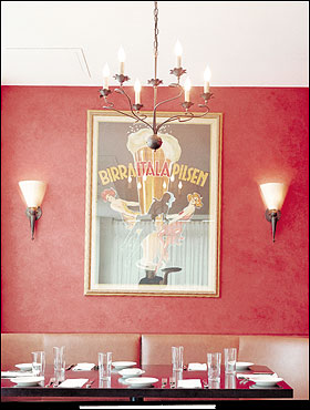 The stylish Tomasso Trattoria and Enoteca in Southborough, which features the talents of two Upstairs on the Square alums, offers many brilliant but simple dishes in grazing portions and wines poured into carafes.