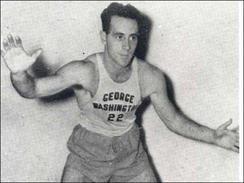 Red Auerbach played for George Washington University for three seasons, graduating in 1941.