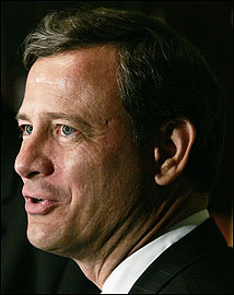 Supreme Court nominee John G. Roberts Jr.