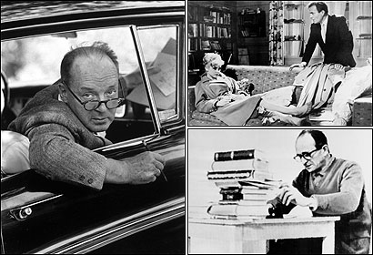 Vladimir Nabokov (left) in September 1958. ''L'Affaire Lolita,'' as the French had christened it, was just beginning its long career. THE ELOQUENCE OF EVIL? James Mason as Humbert Humbert (top right) in Stanley Kubrick's 1962 film version of ''Lolita.'' Nazi war criminal Adolf Eichmann (bottom right), in confinement in Jerusalem in 1961. Eichmann's disgust with ''Lolita'' raises the unsettling question of how to read the novel.