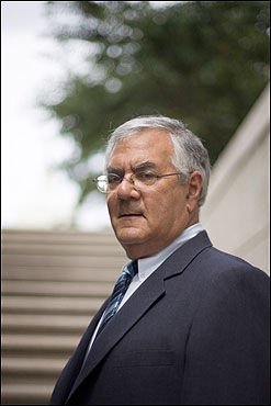 Just being Barney Frank has meant...