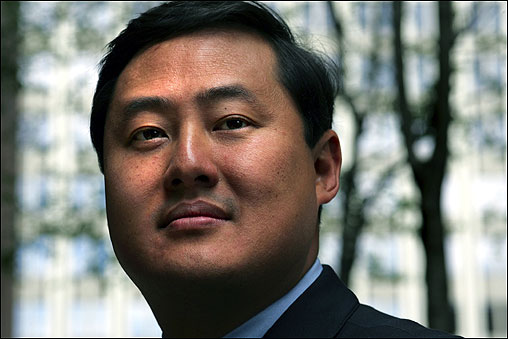 POWER HITTER. John Yoo, a professor of law at UC Berkeley, served in the Office of Legal Counsel from 2001 to 2003, giving advice to the president and the Department of Justice on matters ranging from war powers to the legal definition of torture.