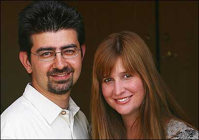 Pierre and Pam Omidyar, Tufts graduates, have given the university its biggest donation ever, to help poor people around the world to start up small businesses with very small loans.