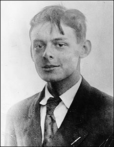 T.S. Eliot in 1906, at age 19.
