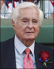 Curt Gowdy went from the Red Sox to the national stage.