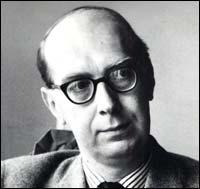 Philip Larkin, probably in the mid-1970's