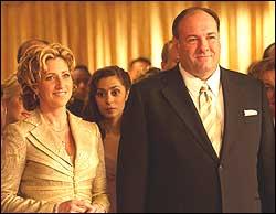 Carmela and Tony Soprano