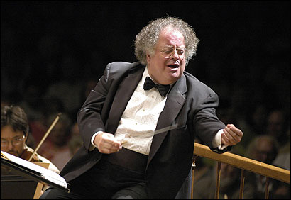 Music director James Levine fell Wednesday night at Symphony Hall.