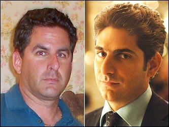 Former Peabody resident Marc Harris says that his sister and others say he looks a lot like Christopher Moltisanti, played by Michael Imperioli.