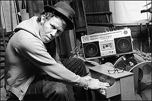The singer and songwriter Tom Waits refuses, as a rule, to do commercials. In 1992, he won a right-of-publicity suit against Frito-Lay for a Salsa Rio Doritos commercial featuring a voice strikingly like Waits's, singing a jingle based on his song ``Step Right Up'-a song Waits wrote as a parody of ad jingles. Four years earlier, Bette Midler had won a similar case against the Ford Motor Co.