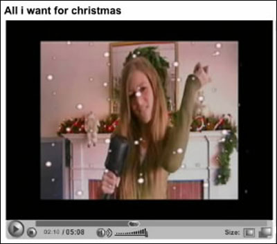 Brooke Brodack in one of her Youtube.com videos.