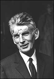 Samuel Beckett in 1970, the year after he received the Nobel Prize.