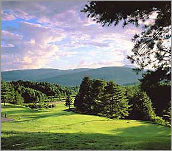 Waterbury, Vt., is home to the Country Club of Vermont, a fairly new golf course, praised for its stunning beauty in all directions. For more local links, grab a copy of The Boston Globe's new book, 'Golfing New England: Courses, Legends, History, and Hints.'