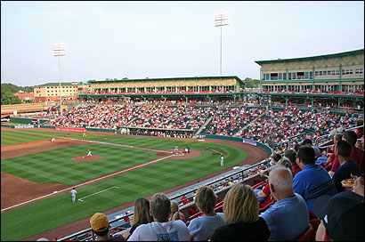 The Boston Baseball Field of Dreams group would model a Boston facility after Hammons Field, a minor league stadium in Springfield, Mo. The Missouri stadium cost $30 million; in Boston, the price tag would be expected to exceed $40 million.