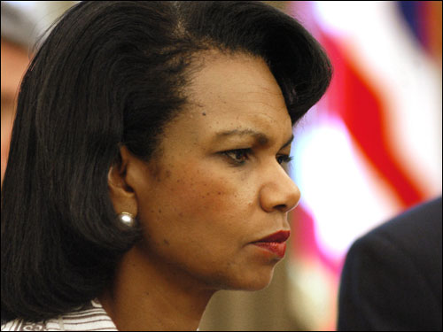 As fighting continues between Hezbollah and Israel, U.S. Secretary of State Condoleezza Rice visited the Middle East in effort to find a solution for prolonged peace in the region.