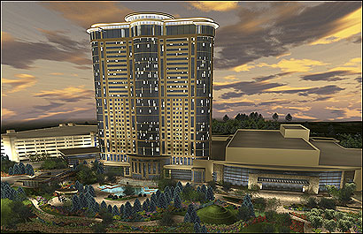 Foxwoods and MGM Mirage have joined forces to add a $700 million casino-hotel, theater, and convention center to the Foxwoods property.
