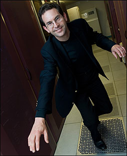 Carrying computer ID chips in our bodies is cutting edge, but John Halamka - who has one near his triceps - believes that in certain cases 'having an implanted identifier makes sense.'