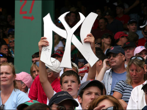 Liam McCarthy from Hudson wanted everyone to know that all signs pointed to a NY sweep on Monday.