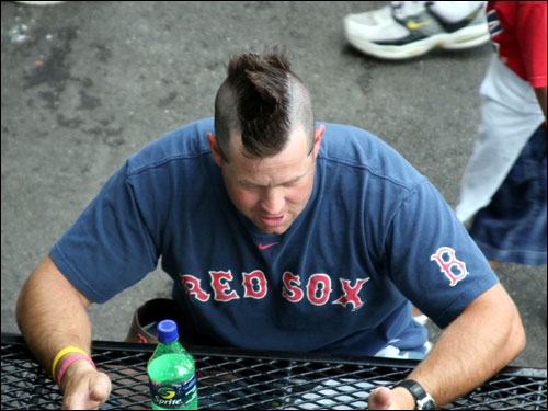 Not even a Jonathan Papelbon rally mohawk was going to spark a comeback in Game 5.