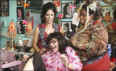 Ana Ortiz, America Ferrera, Thea Vidale in ABC's 'Ugly Betty.'