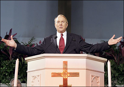 James Dobson's Focus on the Family has played a major role in presidential politics.