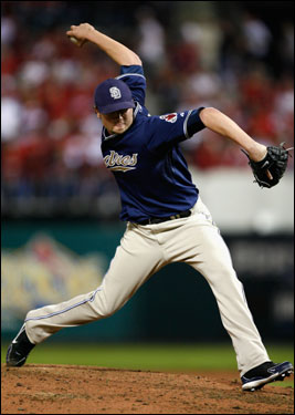 Meredith continued his dominance since joining the Padres, pitching 3 2/3 playoff innings. He allowed two unearned runs to score while picking up three strikeouts and posting a 0.00 ERA.