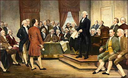 The signing of the United States Constitution in 1787. Is it time for a revision?