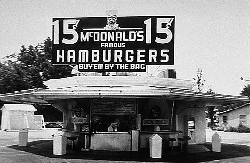 McDonald Brother's store in San Bernadino, California