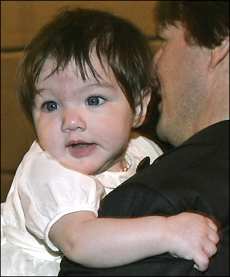 Tom Cruise and Katie Holmes's daughter, Suri