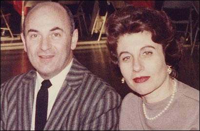 The diaries of Mina Block (pictured with her husband, Mike, in 1965) bring three decades&#146; worth of roiling, accusatory angst to the documentary.