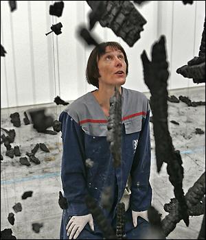 British artist Cornelia Parker