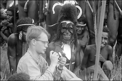 Michael Rockefeller among the Dani, 1961