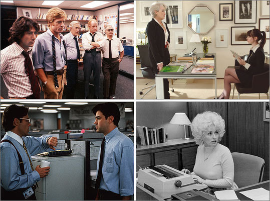 All in a day's work Good business movies—with the exception of those shown in the conference room-- feature the greed, tragedy and revenge of a Shakespearean play, plus a dose of romance and triumph. What's not to like? Here you'll find some of our favorites.