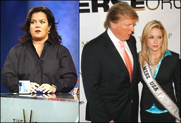 O'Donnell, Trump, Miss USA