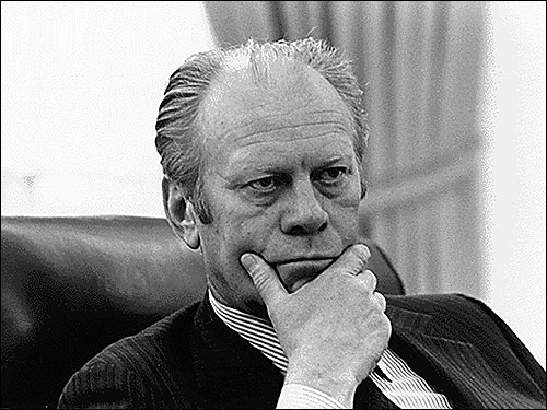 Gerald R. Ford Jr., whose earnest manner and manifest personal decency helped restore the confidence of a nation traumatized by Watergate, died Tuesday. He was 93. Here's a look back at his life and presidency.