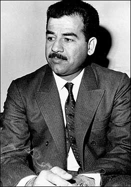This is a November 26, 1971 photo of former Iraqi leader Saddam Hussein, who ruled Iraq from 1979 until he was deposed by US forces in 2003.