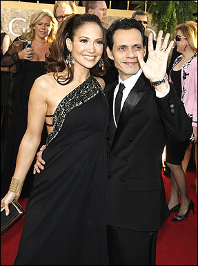 Jennifer Lopez and hubby-musician Marc Anthony