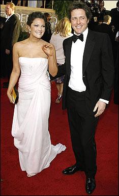 Drew Barrymore and Hugh Grant