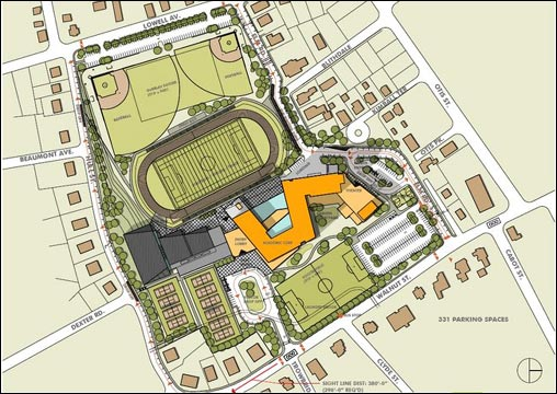 High School Building Floor Plans : WOOSTER HIGH SCHOOL BUILDING PLANS « Floor Plans